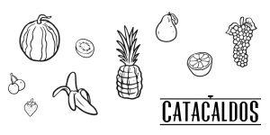 Catacaldos. Frutas de temporada.