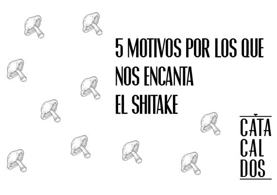 5 Motivos por los que nos encanta el shiitake