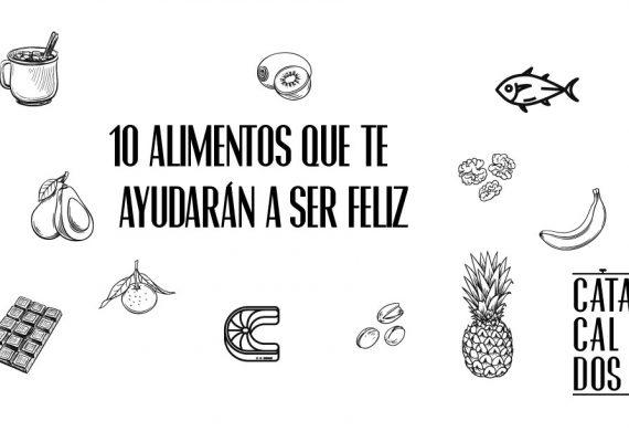 7 alimentos que te ayudarán a ser feliz