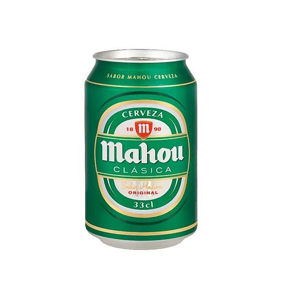 Lata cerveza Mahou clasica-33cl