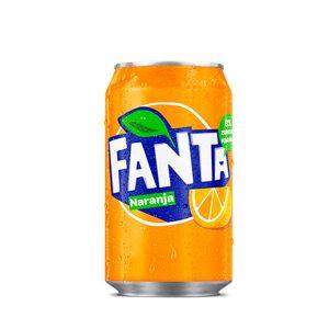 Refresco Fanta naranja 33cl